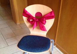Der Stuhl für das Silentium